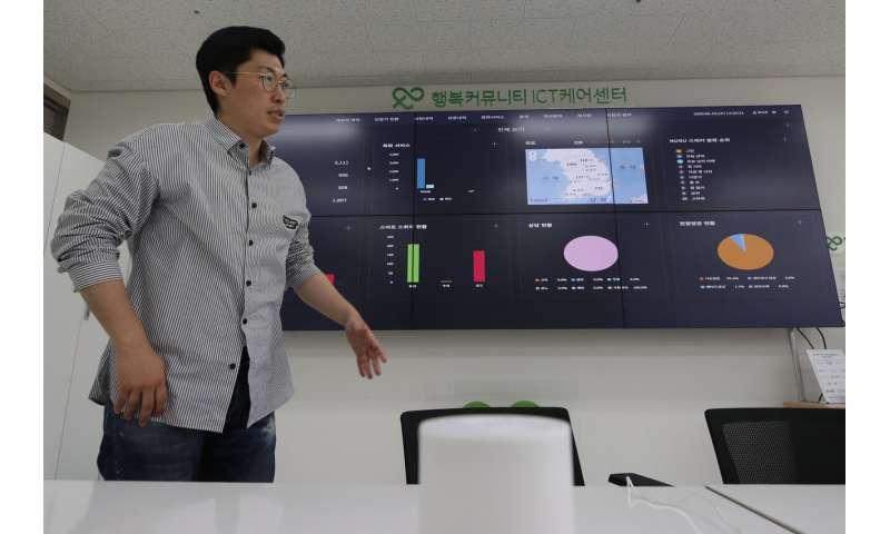 In virus-hit South Korea, AI monitors lonely elders