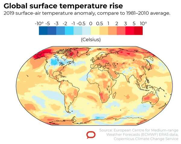 It's official: the last five years were the warmest ever recorded