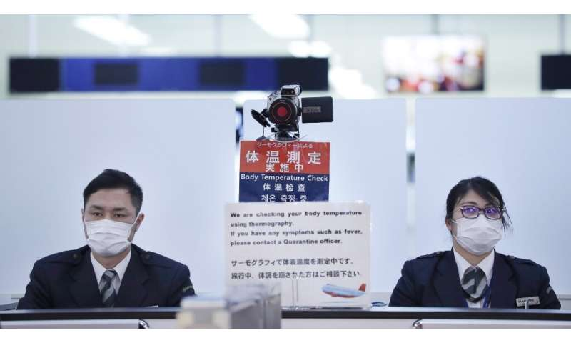 Japan has put screening measures in place at its airports after so far detecting four cases of the deadly virus