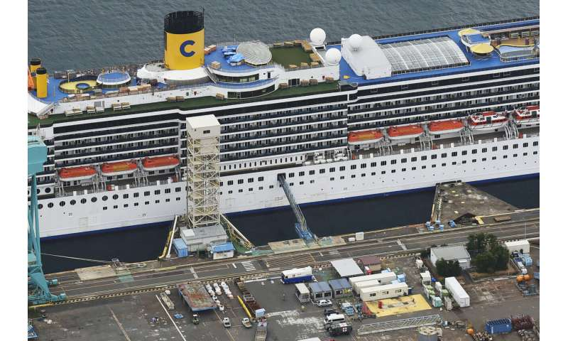 Japan officials puzzled by outbreak on docked cruise ship