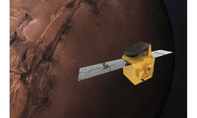 Japan rocket carrying UAE Mars probe ready for Monday launch