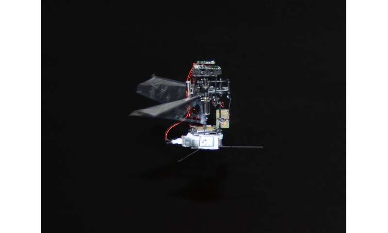 KUBeetle-S: An insect-inspired robot that can fly for up to 9 minutes