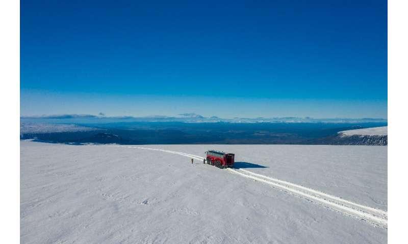 Langjokull glacier formed around 2,500 years ago