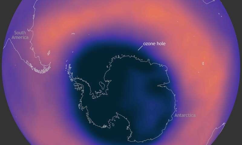 Large, deep Antarctic ozone hole to persist into NovemberOctober 30, 2020