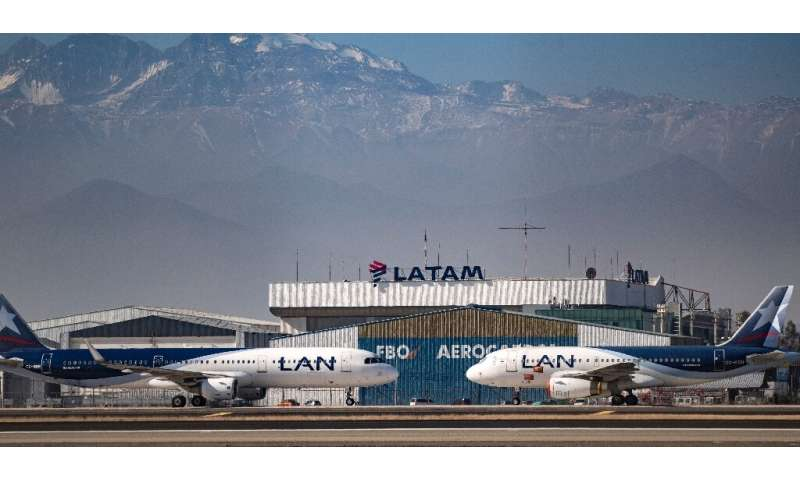 Latin America's biggest airline, the Brazilian-Chilean group LATAM, filed for bankruptcy in the US in May, after which its share