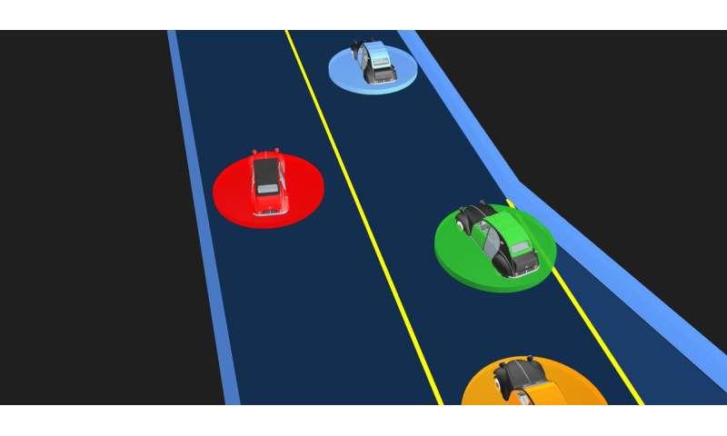 LUCIDGames: Sebuah teknik untuk merencanakan lintasan adaptif untuk kendaraan otonom