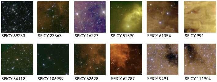 Mapping stellar nurseries in the Milky Way