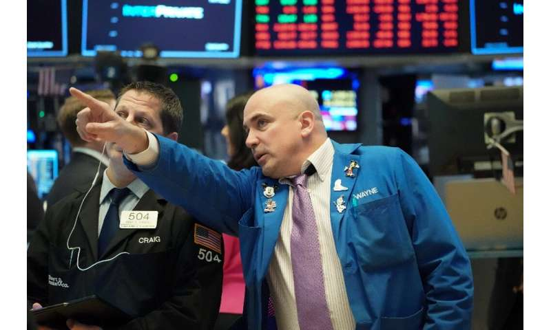Markets swung wildly on Friday over the coronavirus