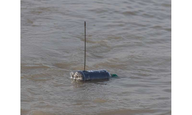 'Message in a bottle' tracks plastic pollution