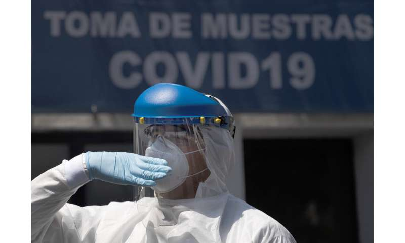 Mexico posts record 5,662 new coronavirus cases in one day
