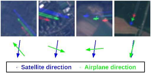 Monitoring european air traffic with Earth observation