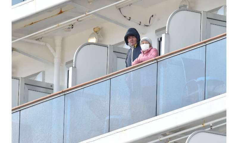 More than 3,700 people were on a cruise ship when it was quarantined off the Japanese coast