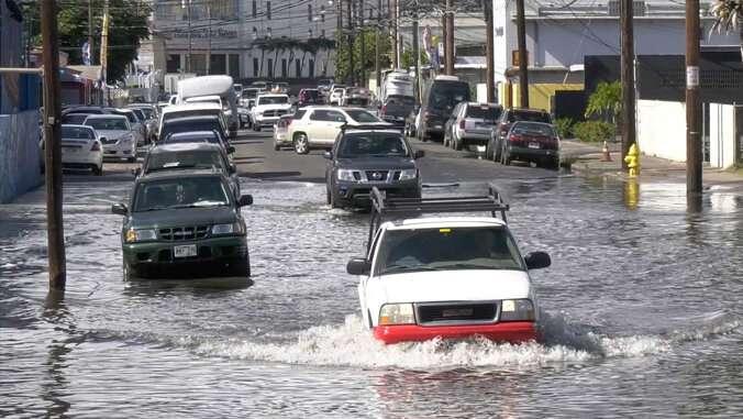Multiple flooding sources threaten Honolulu's infrastructure
