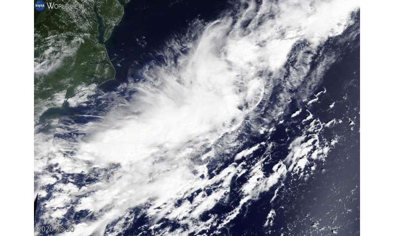 NASA catches formation of Atlantic's record-breaking 15th tropical storm