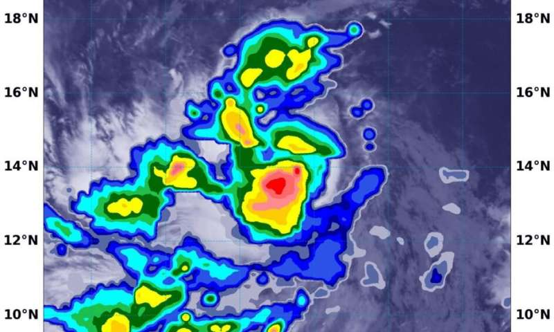 NASA confirms heavy rainfall, strengthening of tropical storm Marie