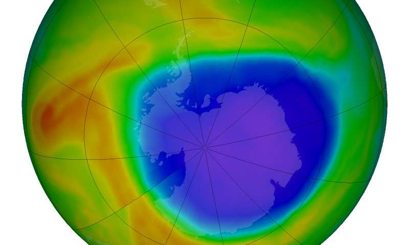 NASA data aids ozone hole's journey to recovery