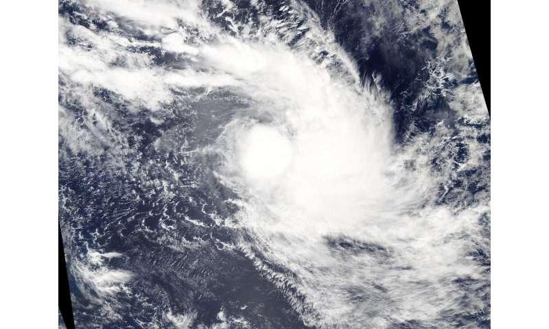 NASA satellite observes Tropical Storm Francisco's formation