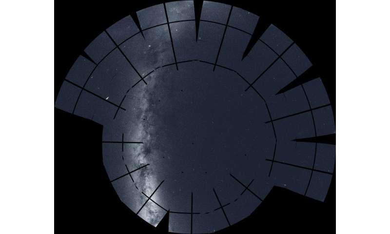 Nasa's Transiting Exoplanet Survey Satellite creates a cosmic vista of the northern sky