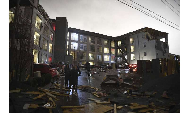National Weather Service confirms tornado near Nashville