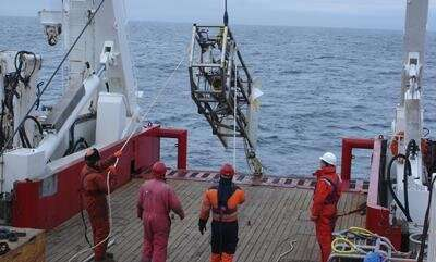 New assessment of gas locked in ice in European waters