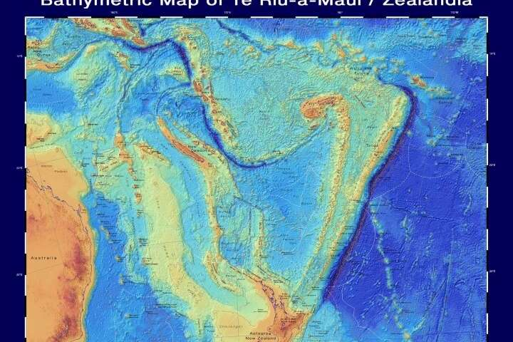 New maps and website give fresh insights into NZ continent