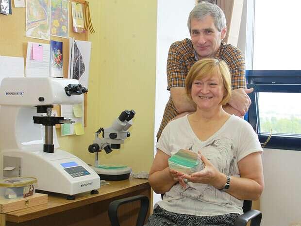 New mineral, 'priscillagrewite,' named in honor of renowned Nebraska geologist