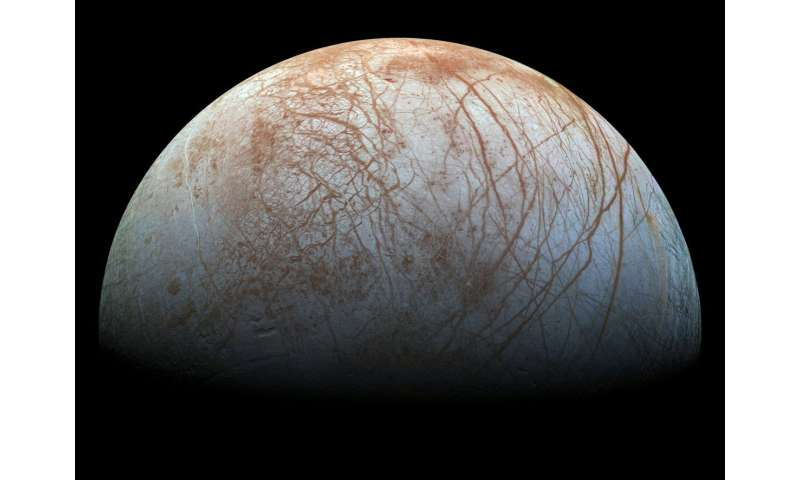 New simulations indicate that Jupiter's fourth-largest moon ejects water from its subsurface ocean into space