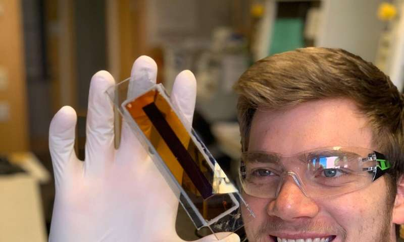 New type of indoor solar cells for smart connected devices