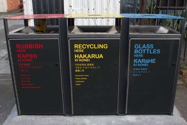 New Zealand invests in growing its domestic recycling industry to create jobs and dump less rubbish at landfills