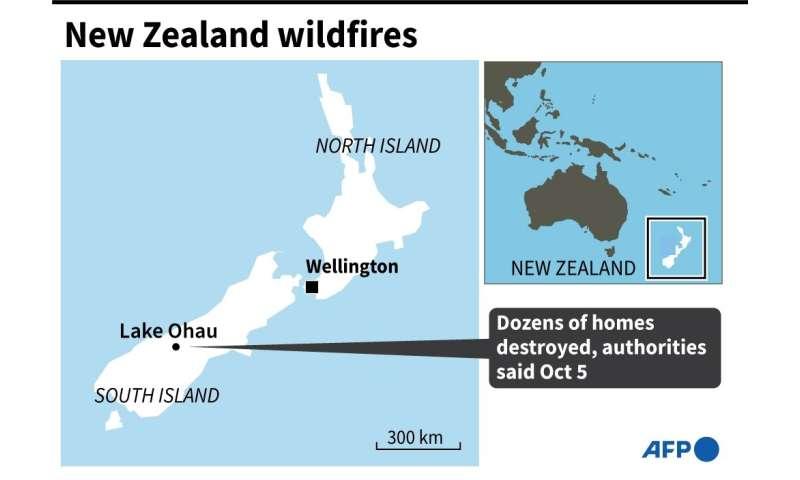 New Zealand wildfires