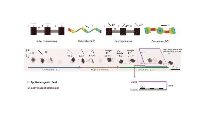 Semprotan magnetis baru mengubah objek menjadi millirobots untuk aplikasi biomedis