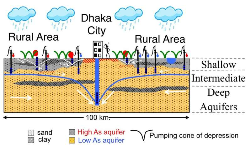 Origin of arsenic in Bangladesh groundwater
