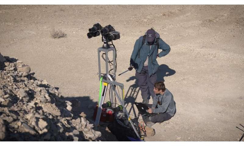 Perseverance Mars rover scientists train in the Nevada desert