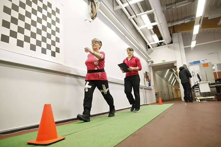 Physical activity of older people requires tailored monitoring