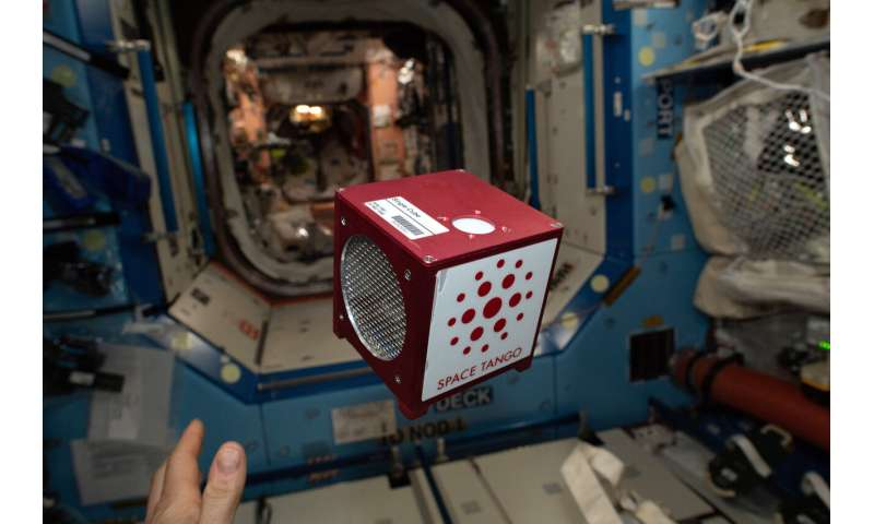 Producing human tissue in space