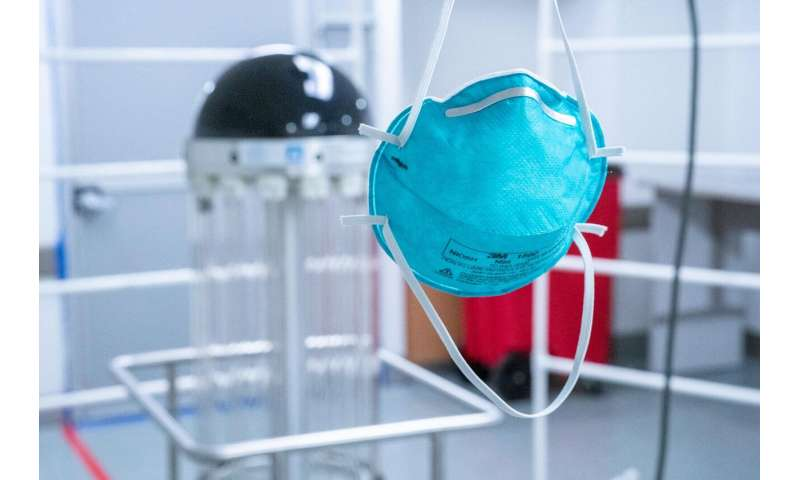 Robot allows clinicians to reuse thousands of masks in the COVID-19 fight