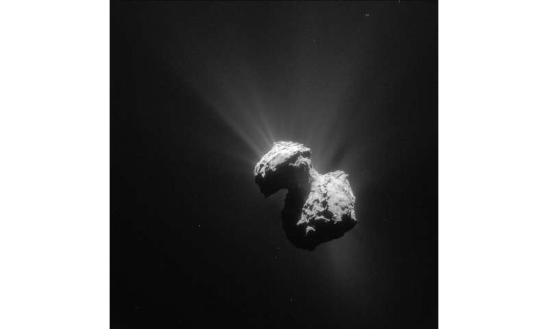 Rosetta and the chameleon comet