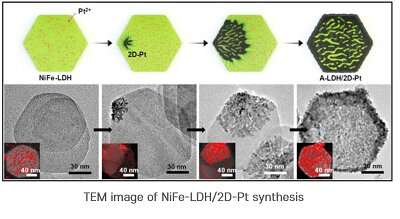 Sandwich catalysts offer higher activity and durability