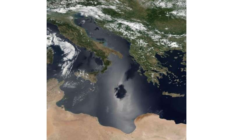 Satellites can see the pollution trails from individual ships