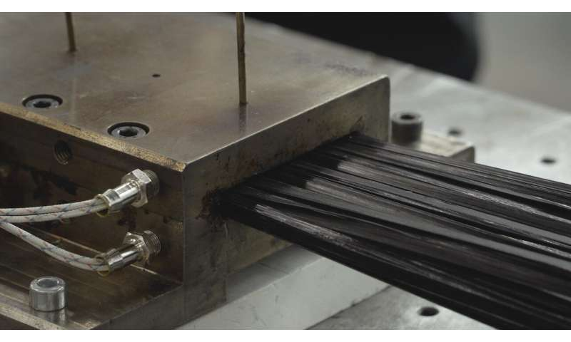Scientists optimize productivity of pultrusion manufacturing process