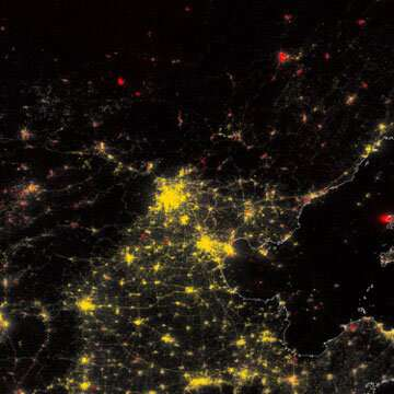 Seeing the pandemic at night: How satellites observe more than just weather