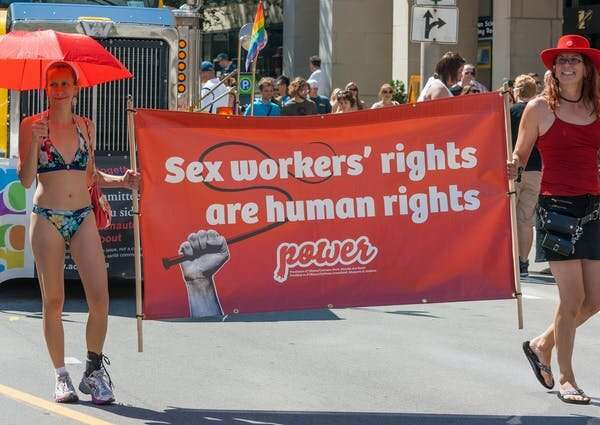 Sex workers are criminalized and left without government support during the coronavirus pandemic