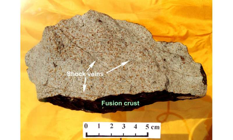 Shocked meteorites provide clues to Earth's lower mantle