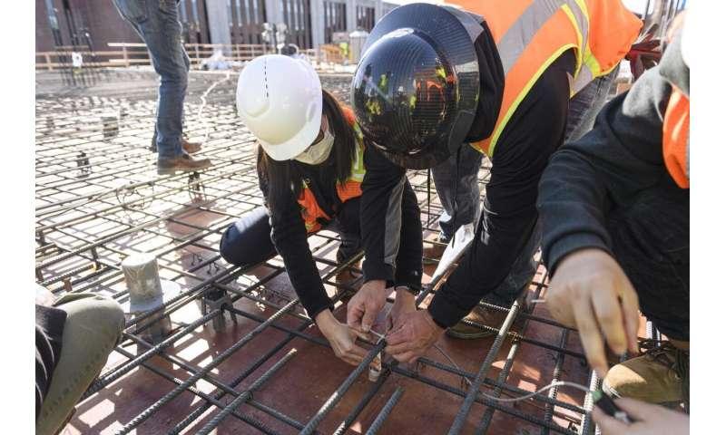 Jadwal konstruksi bangunan yang lebih pendek dapat dimungkinkan dengan teknologi sensor baru
