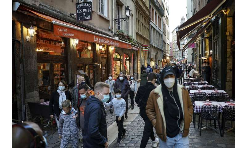 Rising viral infection is putting more French cities on alert