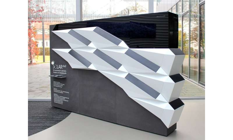 Solar energy solutions for facades