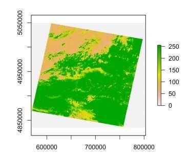 El estadístico evalúa los datos agrícolas para aumentar la productividad