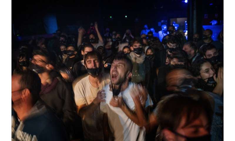 Study of virus screening at concert reports zero infections