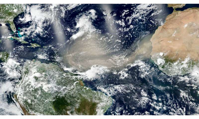 Study quantifies Saharan dust reaching Amazon