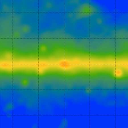 Study rules out dark matter destruction as origin of extra radiation in galaxy center
